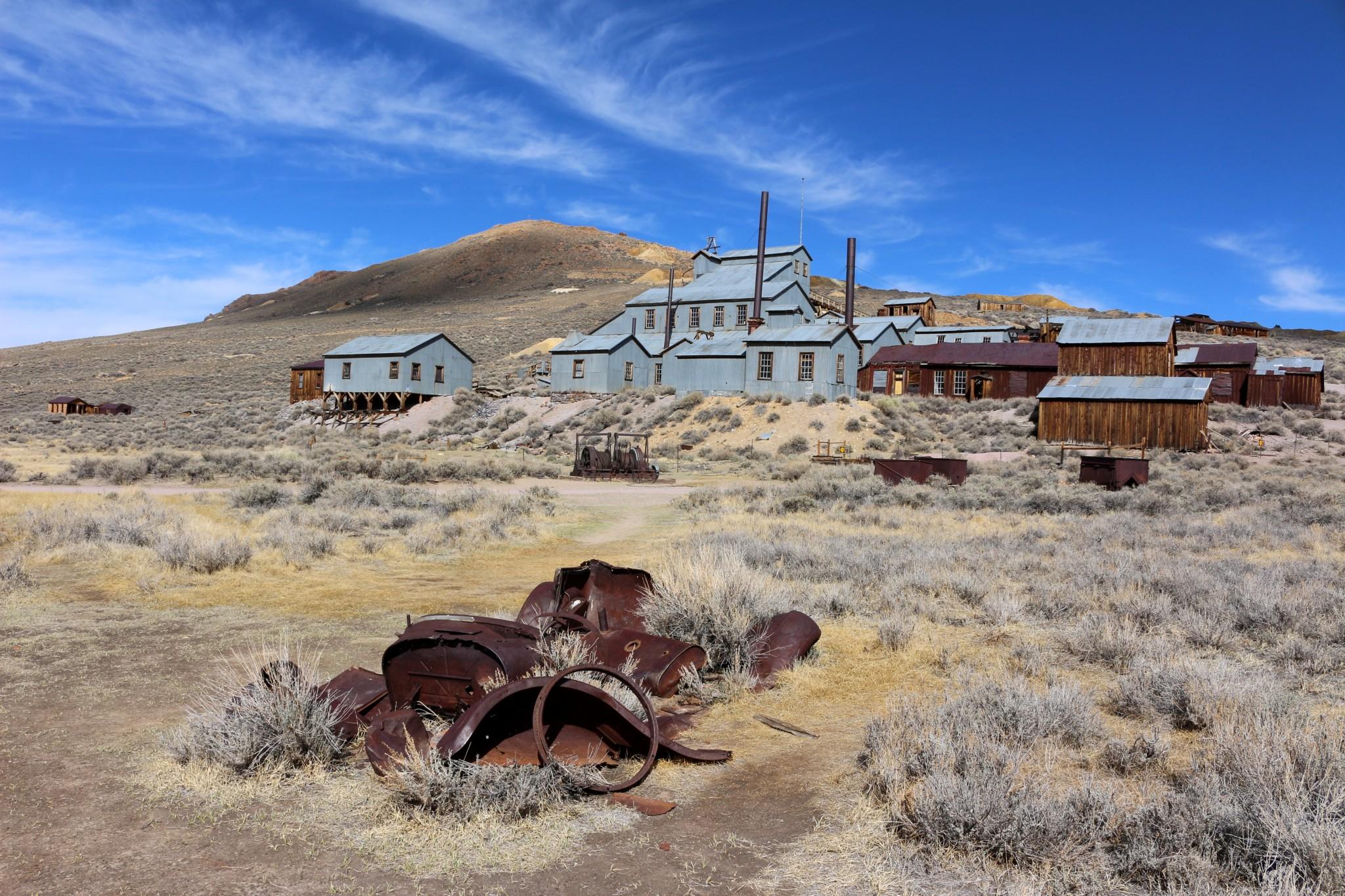 Bodie, une ancienne cité minière des années 1800 devenue ville fantôme