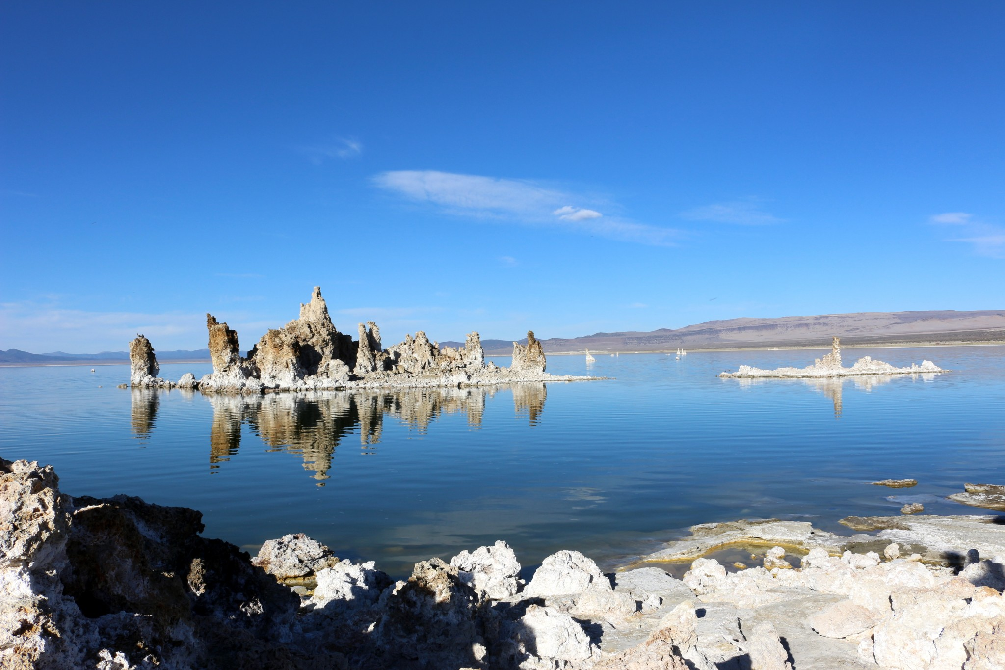 Mono Lake sur le chemin de Bishop