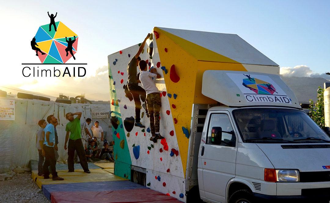ClimbAID – Quand la passion de l'escalade dépasse toutes les frontières